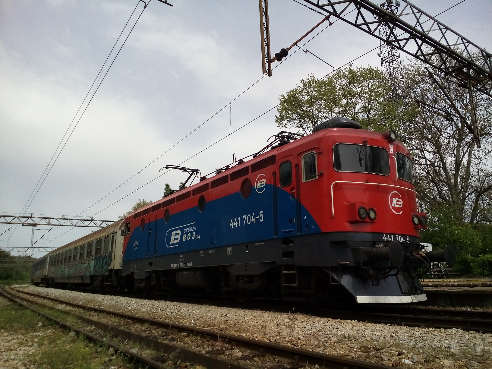 International train services to / from Serbia : summer 2019