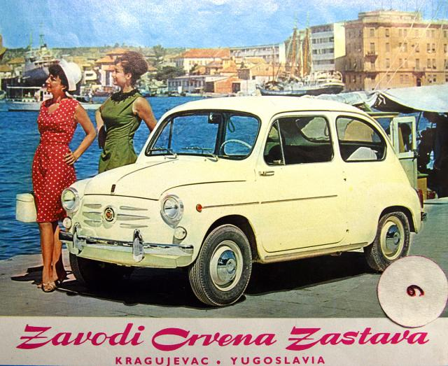 "Yugoslavia's most iconic car: the Zastava 750, the "" Fica """