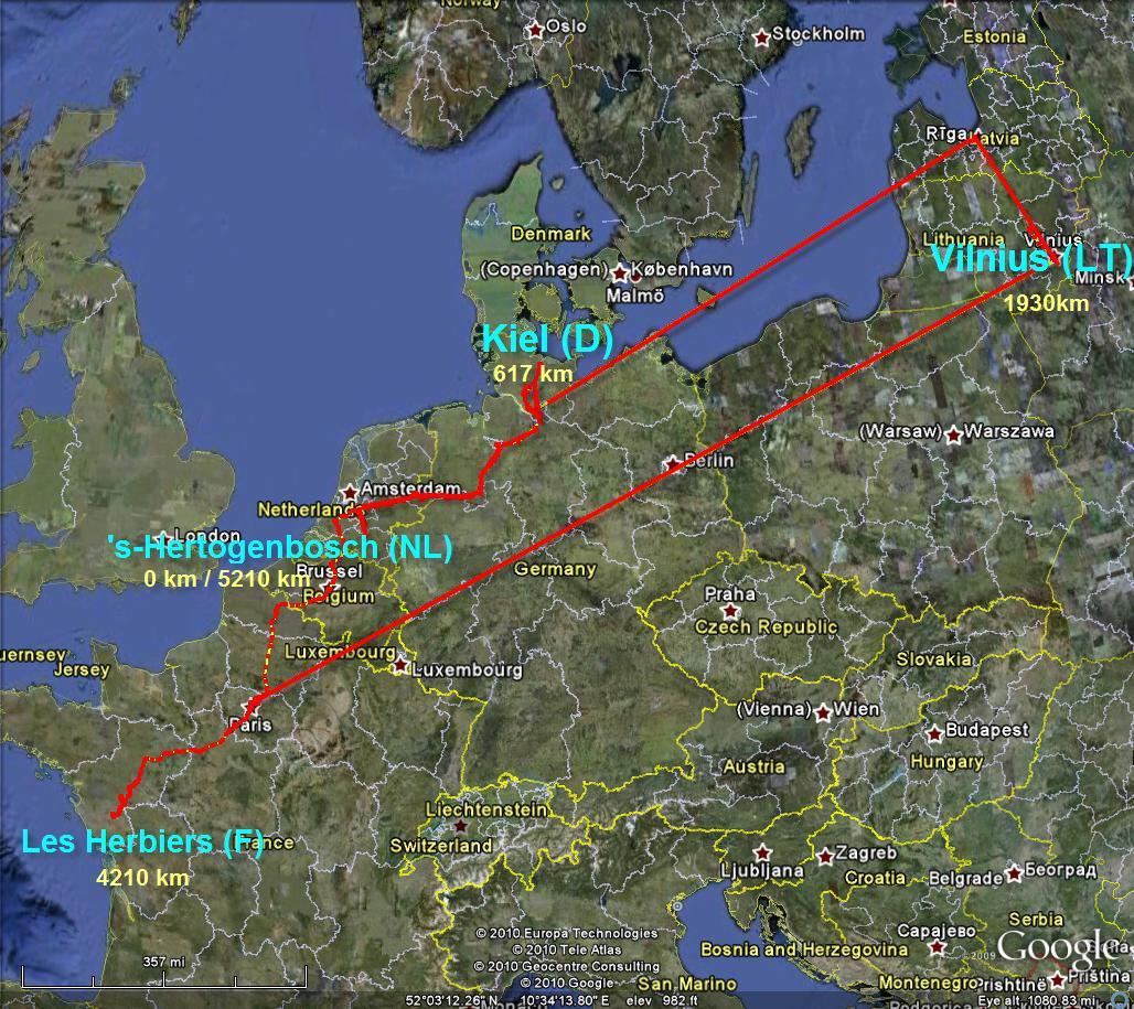 5200km in 12 days….