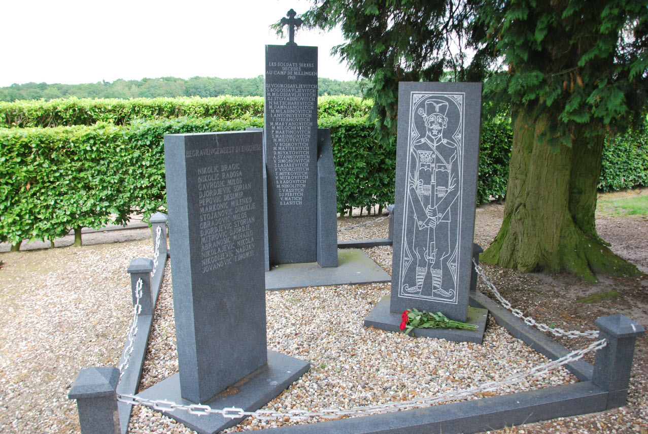 The search continues for the unfortunate Serbian WO1 soldiers who died in NL