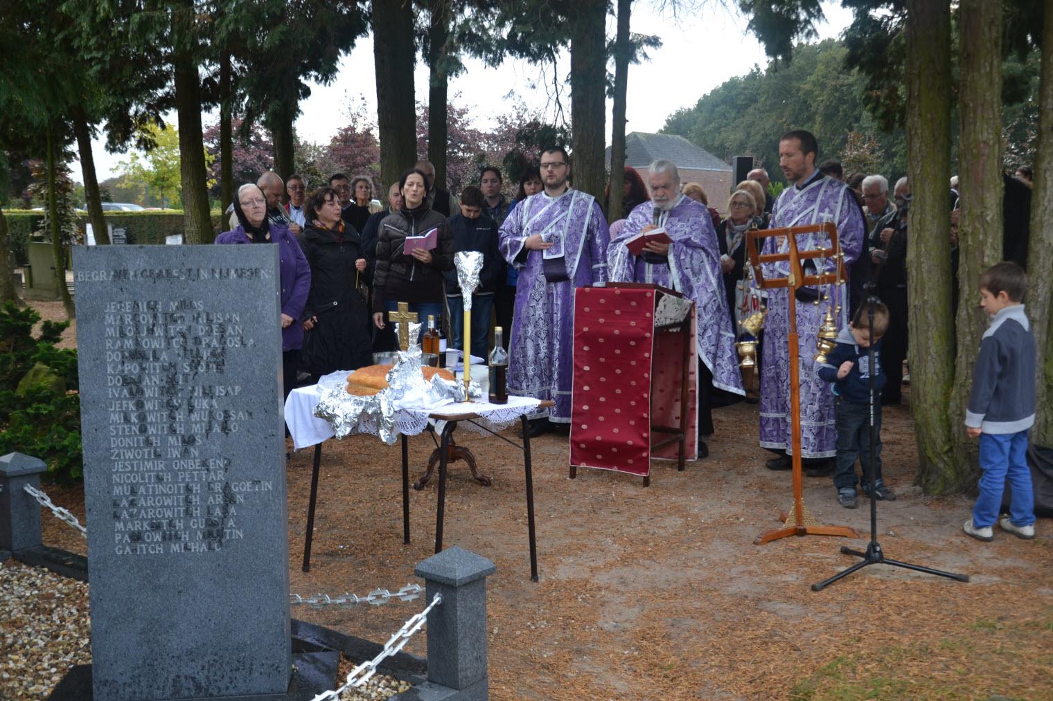Memorial service in Garderen
