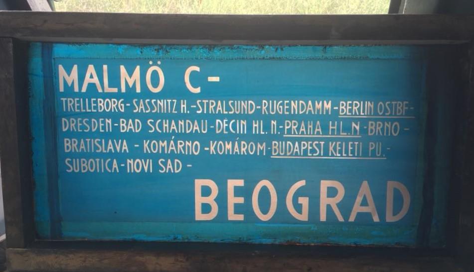 """""""Belgrad, ici Belgrad"""""""