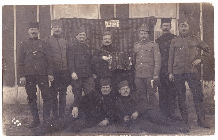 The Serbian WWI soldiers from the Gornji Milanovac who died in the Netherlands